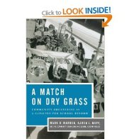 Match on Dry Grass